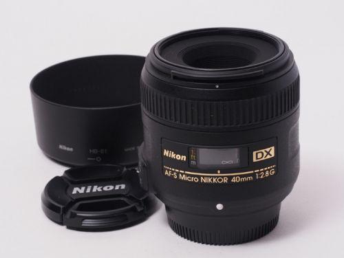 AF-S DX Micro NIKKOR 40mmF2.8G【中古】(L:708)