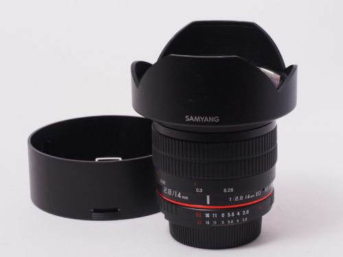 14mm F2.8 ED AS IF UMC ニコン用【中古】(L:212)