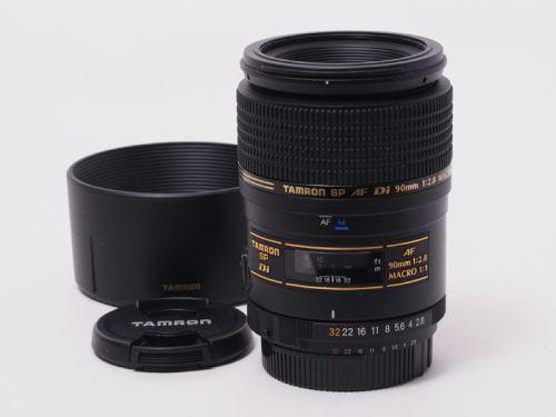 SP 90mmF2.8 Di MACRO ニコン用 【中古】(L:319)