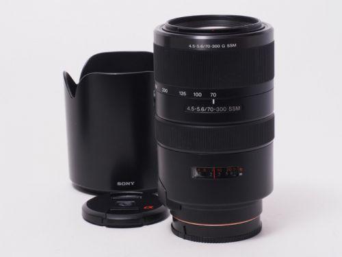70-300mmF4.5-5.6 G SSM (SAL70300G) 【中古】(L:220)