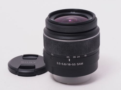 DT18-55mm F3.5-5.6 SAM [SAL1855]【中古】(L:060)