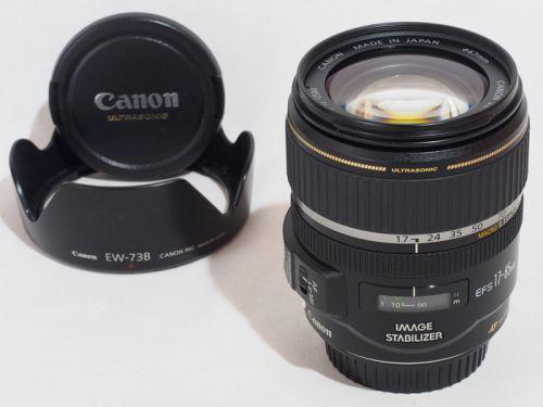 EF-S17-85mm F4-5.6 IS 【中古】(L:085)※価格見直しました!