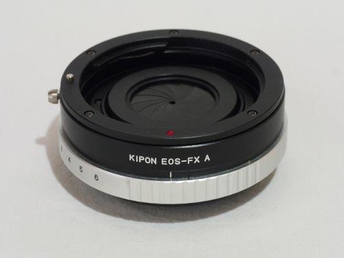 マウントアダプター EF-FX(絞り付き) 【中古】