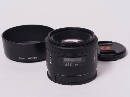 50mm F1.4 [SAL50F14] 【中古】(B:912)
