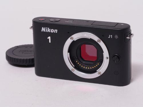 Nikon1 J1 ブラック 【中古】(B:405)