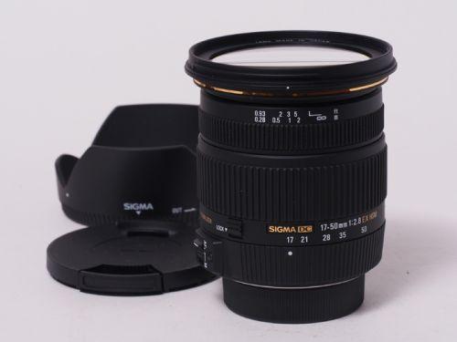 17-50mmF2.8EX DC OS ニコン用 【中古】 (L:127)