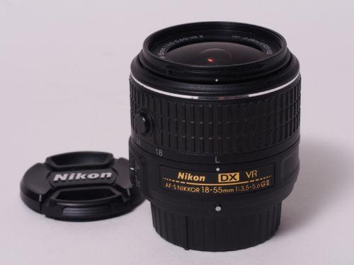 AF-S DX 18-55mm f/3.5-5.6G VRII【中古】(L:591)