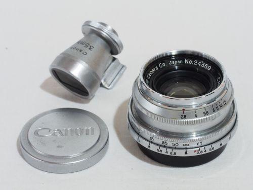 35mmF2.8 ファインダー付【中古】(L:359)