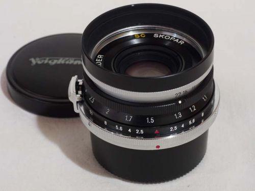SC SKOPAR 35mmF2.5 ニコンSマウント用【中古】