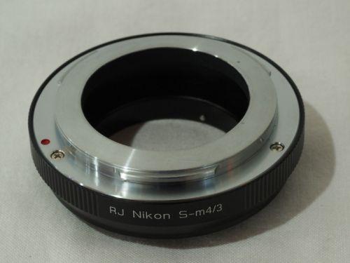 マウントアダプター NikonS-m4/3 【中古】