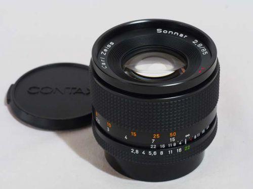 Sonnar T*85mm2.8 MM(G) 【中古】(L:391)