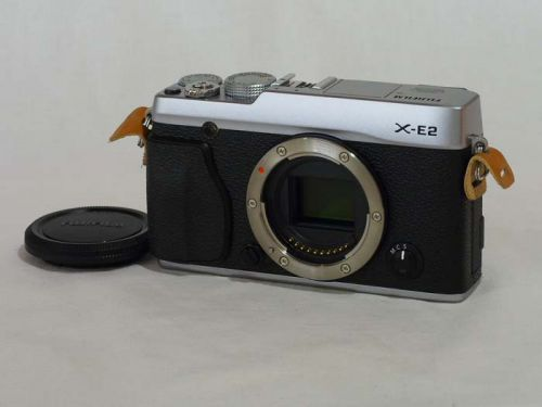 X-E2 ボディ シルバー 【中古】(B:487)