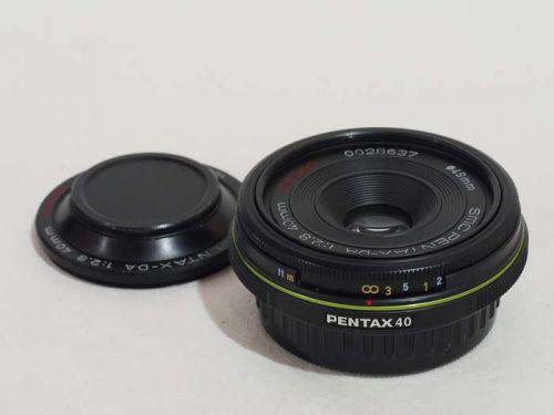 DA 40mmF2.8 Limited ブラック 【中古】(L:637)