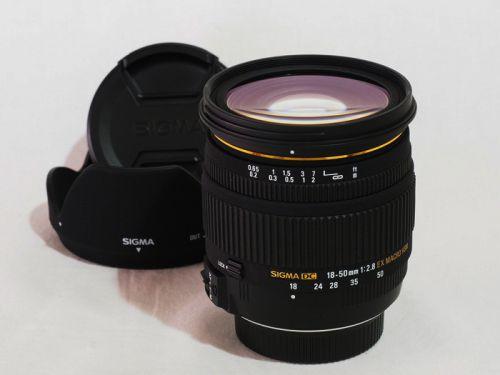 18-50mmF2.8EX マクロ HSM ニコン用 【中古】(L:057)