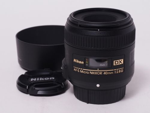AF-S DX Micro 40/2.8G 【中古】(L:535)
