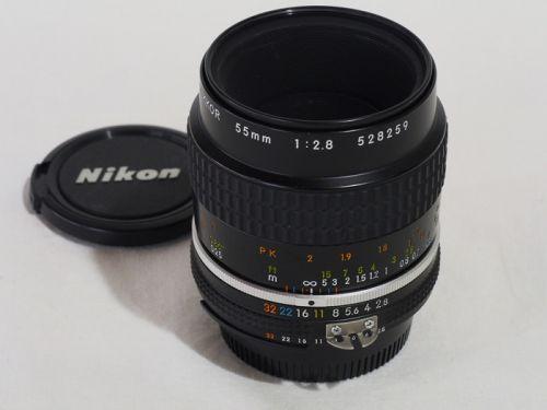 Ai-Sマイクロ 55mmF2.8 【中古】(L:259)