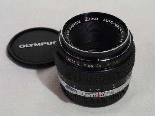 ZUIKO AUTO-MACRO 50mmF3.5 【中古】(L:274)