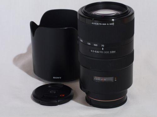 70-300mmF4.5-5.6G SSM (SAL70300G) 【中古】(L:438)