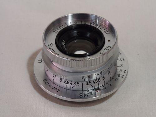 Summaron L 35mmF3.5 【中古】(L:563)