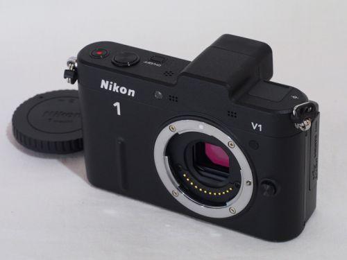 Nikon1 V1 ボディ ブラック 【中古】(B:443)