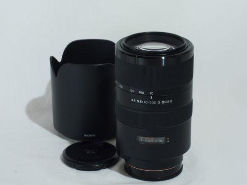 70-300mmF4.5-5.6G SSM II [SAL70300G2] 【中古】