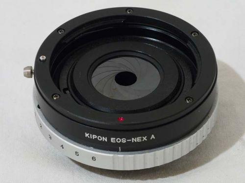 EOS-NEX A アダプター (絞り羽根付き) 【中古】
