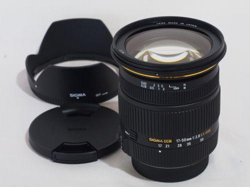 17-50mmF2.8 EX DC HSM ペンタックス用 【中古】(L:737)