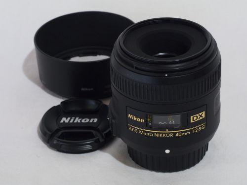 AF-S DX マイクロ 40mmF2.8G 【中古】(L:533)