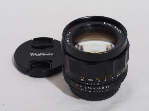 フォクトレンダー NOKTON 58mmF1.4 SLII N【中古】(L:510)