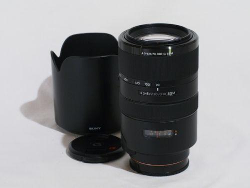 70-300mmF4.5-5.6G SSM (SAL70300G)【中古】(L:516)