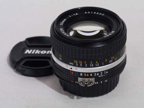Ai-S 50mm/F1.4【中古】(L:500)