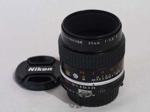 Ai-S Micro 55mm/F2.8【中古】(L:397)