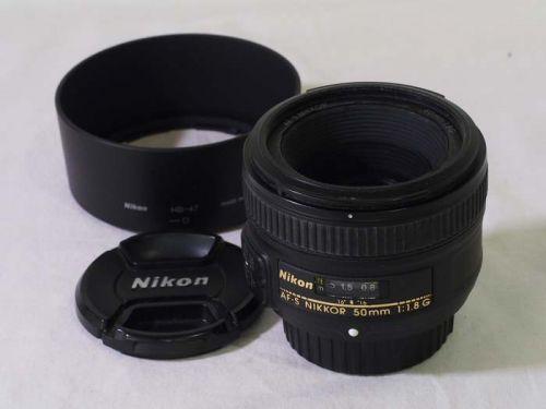 AF-S NIKKOR 50mm f/1.8G【中古】(L:287)