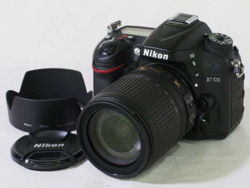D7100 + 18-105VR キット 【中古】(B:832)