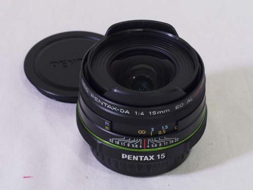 DA15mm F4ED AL Limited【中古】(L:480)