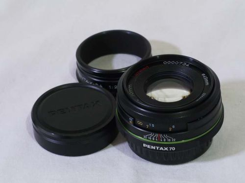 DA70mm/F2.4 Limited 【中古】(L:734)