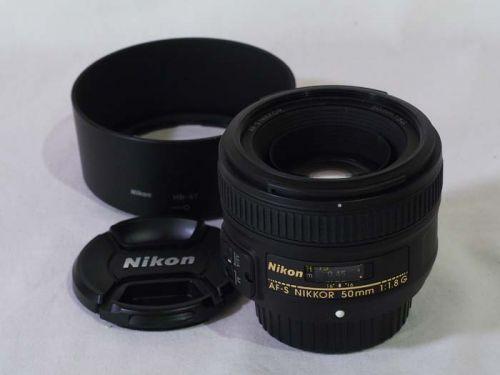 AF-S NIKKOR 50mm f/1.8G【中古】(L:423)