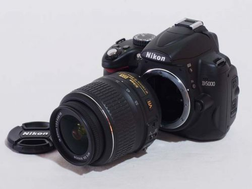 D5000+18-55VR キット【中古】(B:637)