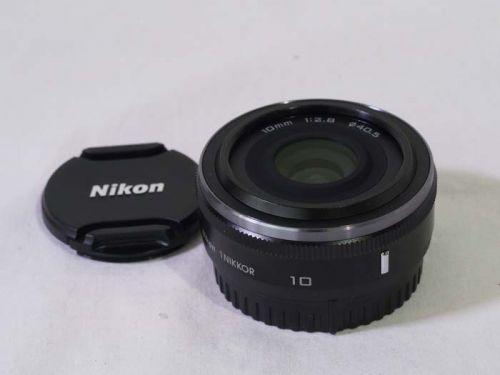 1 NIKKOR  10mm f/2.8 ブラック【中古】(L:351)