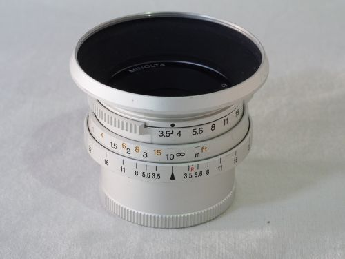 G.ROKKOR 28mmF2.8 【中古】(L:748)