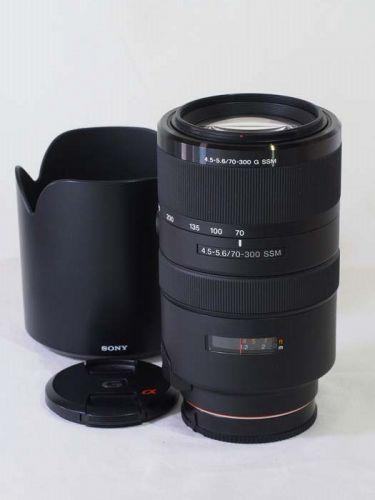 70-300mmF4.5-5.6G SSM [SAL70300G] 【中古】(L:920)