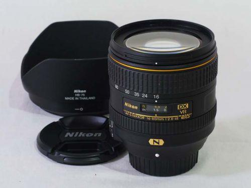 AF-S DX 16-80mmf/2.8-4E ED VR【中古】(L:828)