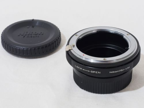 Nikon(G)-L/M マウントアダプター 【中古】