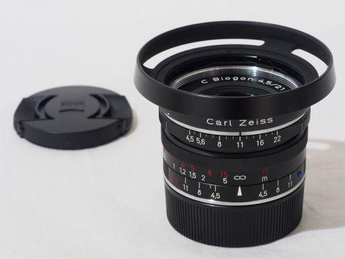 C Biogon 21/4.5ZM ブラック 【中古】(L:168)