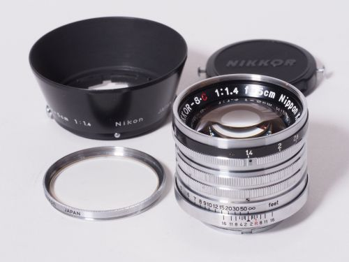 Nikkor-SC 5cmF1.4 Lマウント 【中古】(L:327)