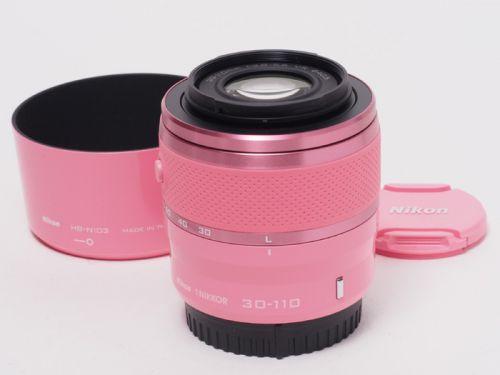 1Nikkor VR 30-110mmF3.8-5.6 ピンク 【中古】(L:318)